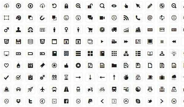 Free simple icon set: Minicons