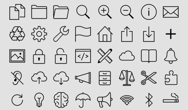 Free simple icon set: Icons8 800+ Free iOS 7 Icons