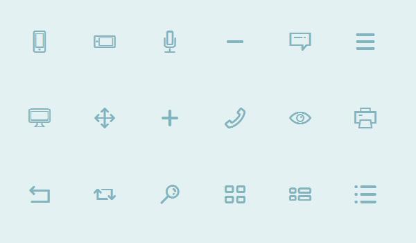 Free simple icon set: Dripicons (Free Iconset)