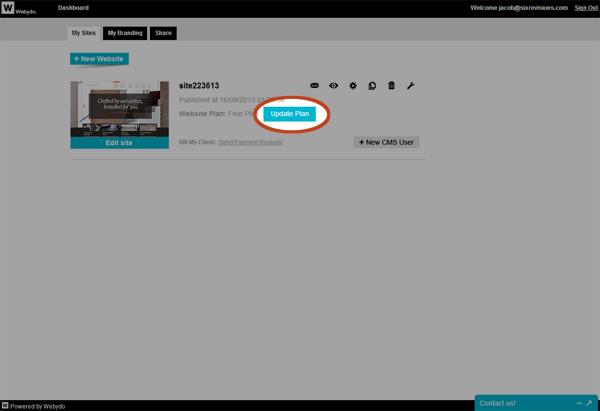 http://dashboard.webydo.com/SiteList.aspx