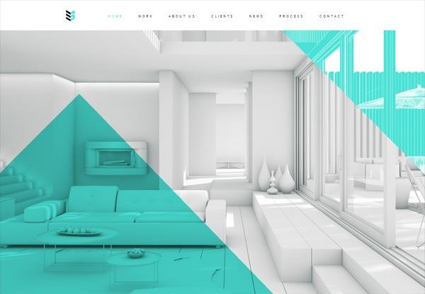 Simple portfolio website design for inspiration: www.case-3d.com