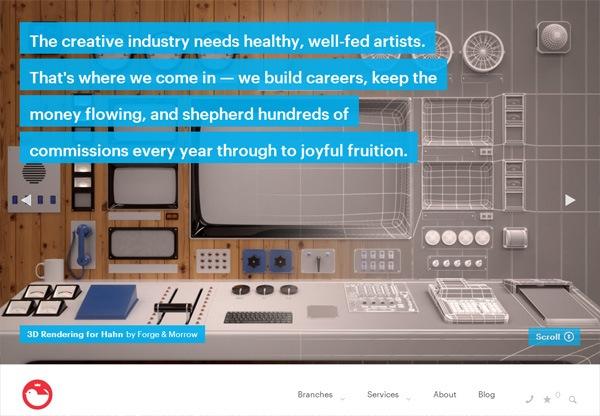 Simple portfolio website design for inspiration: jackywinter.com