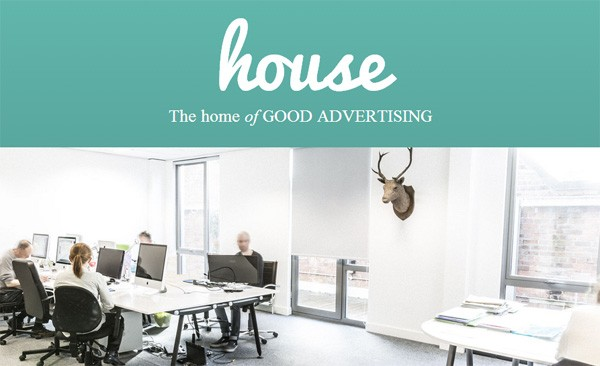 Example of Using Google Fonts: House Creative