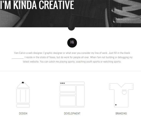 Example of Using Google Fonts: Calvin