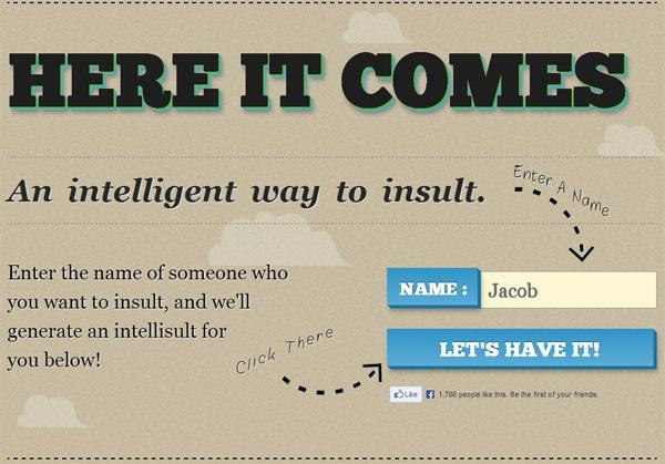 Web form on Intellisult