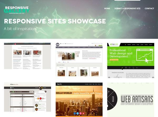 Responsive Sites Showcase. 6 Websites for Responsive Web Design Inspiration