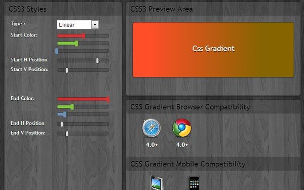 CSS 3.0 Gradient