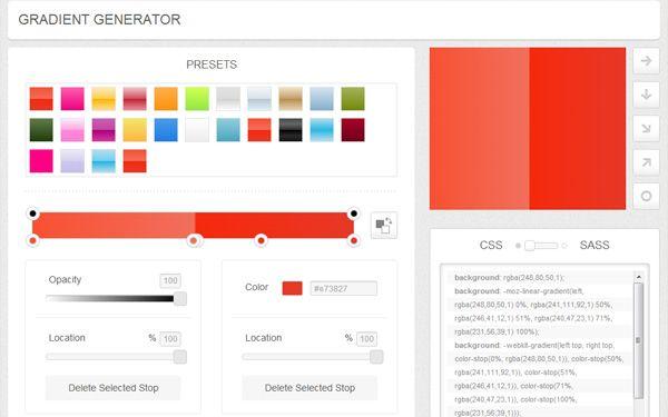 CSSmatic Gradient CSS Generator