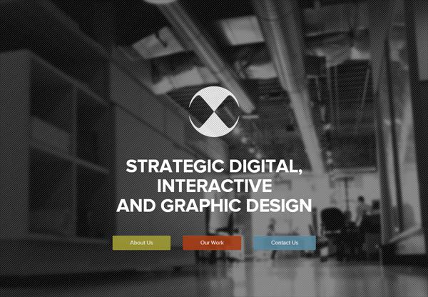 Dark web design example: Octane Design