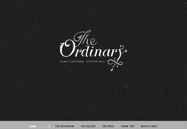 Dark web design example: The Ordinary