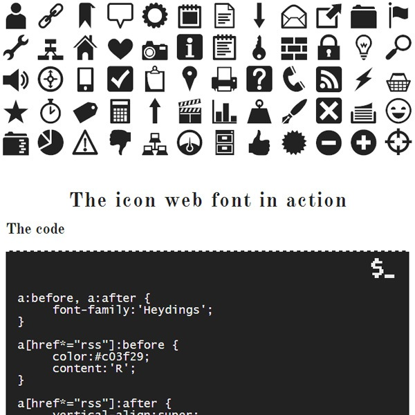 Heydings Icons