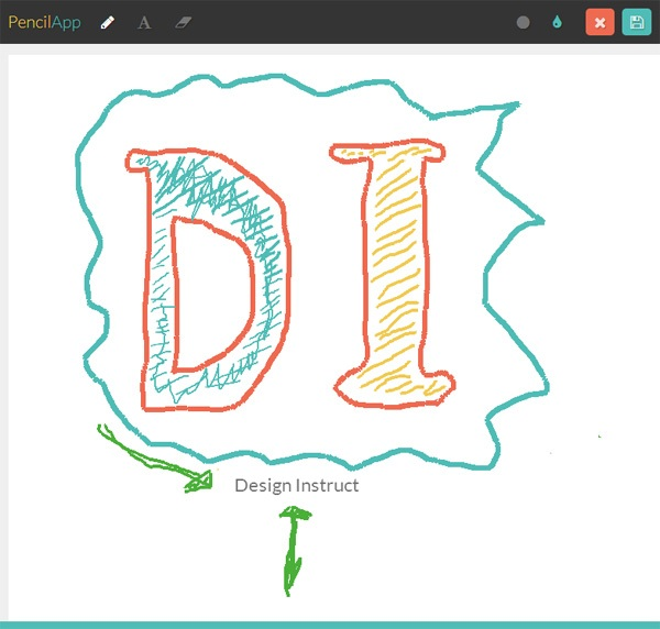 PencilApp: A Minimalist Online Drawing Tool | WebpageFX
