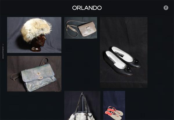 Online shop example: Orlando Berlin Fashion