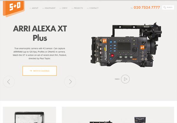 Online shop example: +O Media