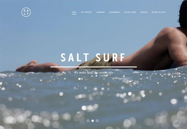 Online shop example: Salt Surf