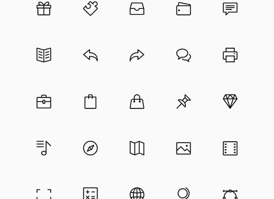 Simple Line Icons Set Vol. 3