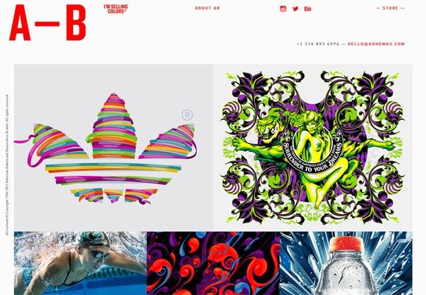 Portfolio design of Adhemas Batista