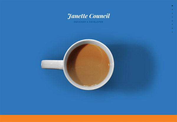 Portfolio design of Janette Council