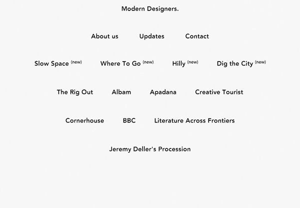 Minimalist design: Modern Designers