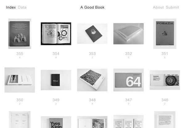 Minimalist design: A Good Book
