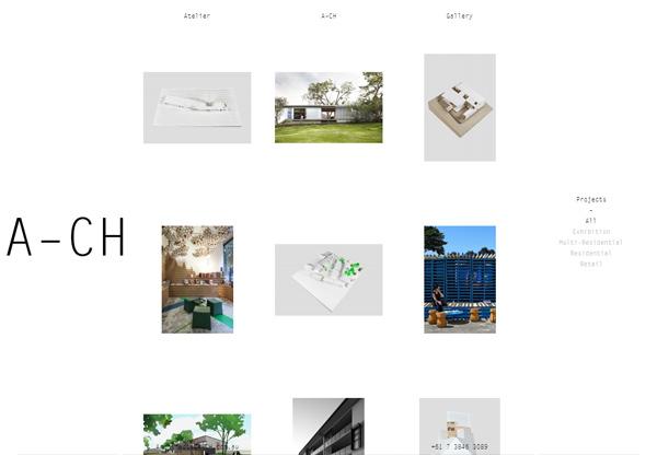Minimalist design: A–CH