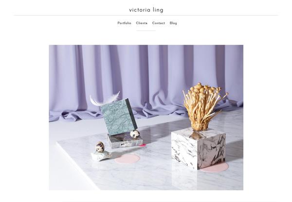 Minimalist design: Victoria Ling