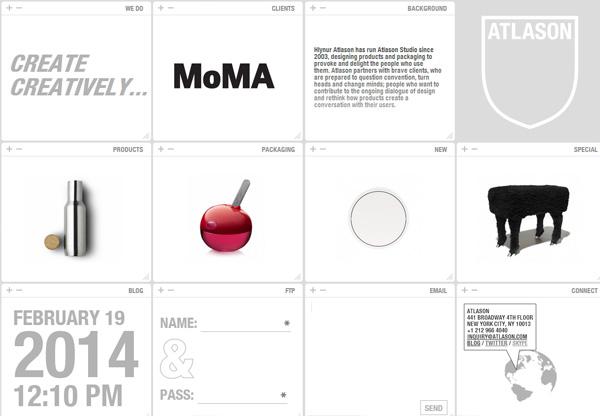 Minimalist design: Atlason