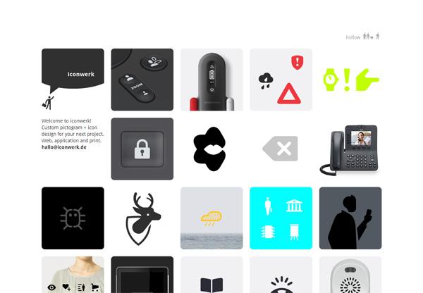Minimalist design: iconwerk