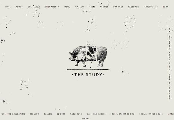 Minimalist design: The Study
