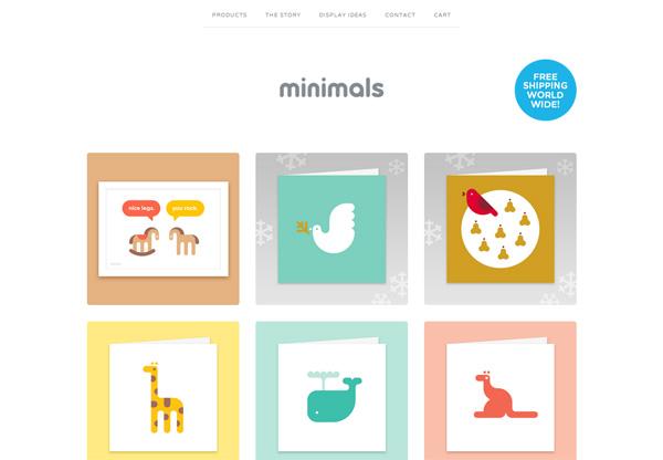 Minimalist design: Minimals World
