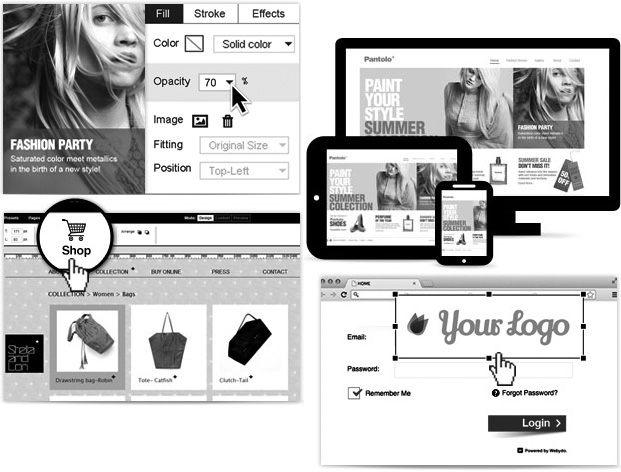 Webydo features