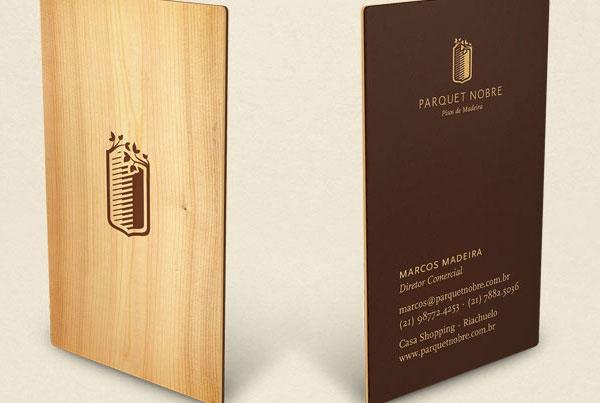 Business Card Design by Parquet Nobre