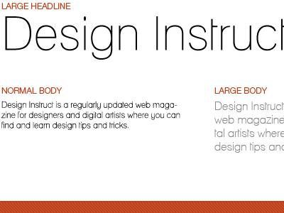 10 Free Thin Sans Serif Fonts