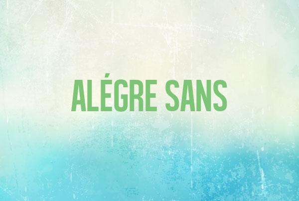 Alegre Sans