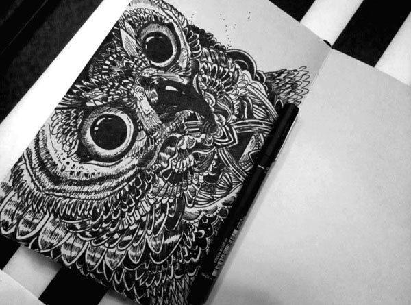 Moleskine Doodles by Weronika Sokol