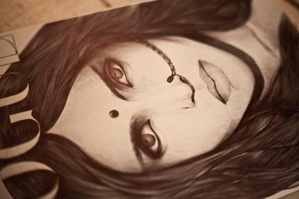 Sketch by Varvara Oboznaya