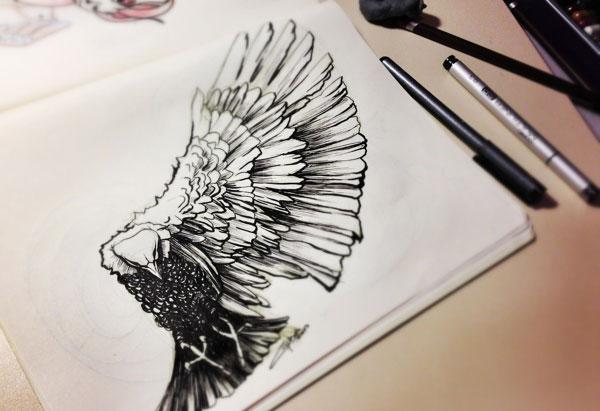 Animal Sketch by Gulsah Alcin