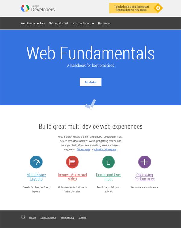 Google Web Fundamentals