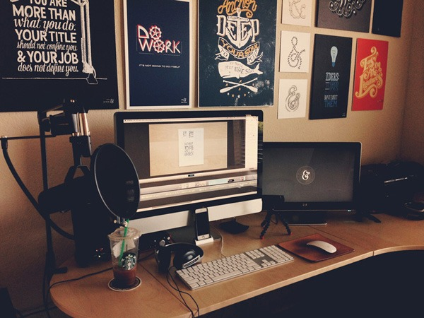 Workspace inspiration: Sean McCabe