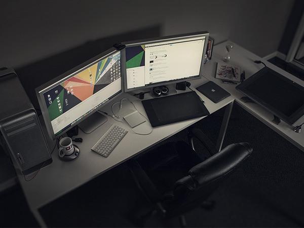 Workspace inspiration: Eddie Lobanovskiy