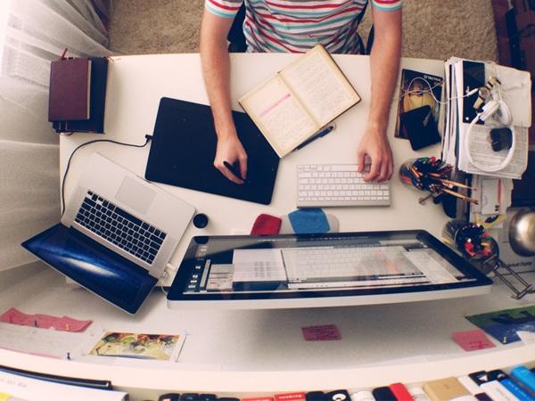 Workspace inspiration: Roman Zapotichnyi