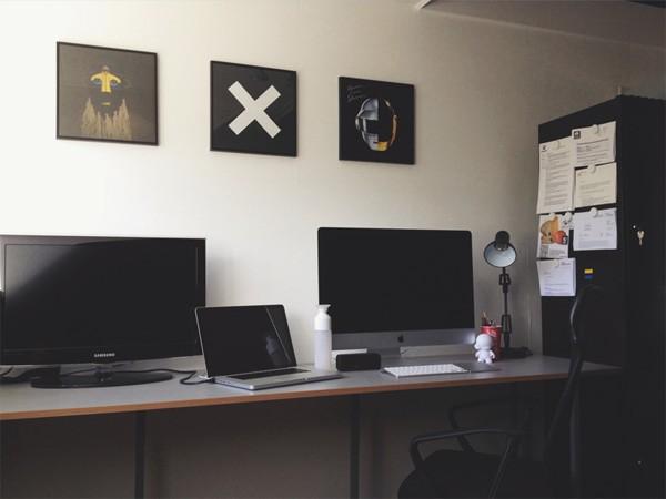 Workspace inspiration: Mark Bijl