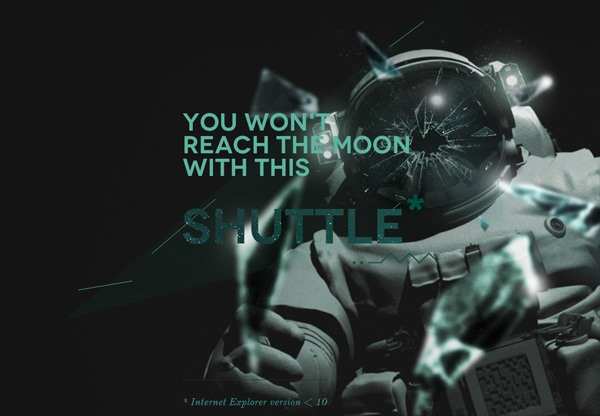 Dark website design inspiration: Mooncamp