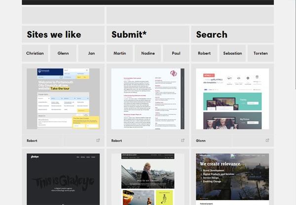 Web Design Gallery: Sites we like
