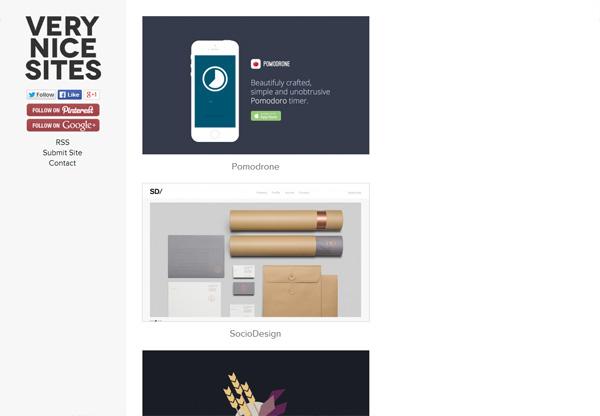 Web Design Gallery: Very nice sites