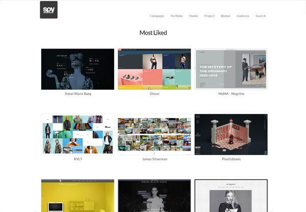 Web Design Gallery: spyline