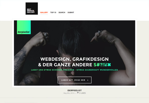 Web Design Gallery: Best Website Gallery