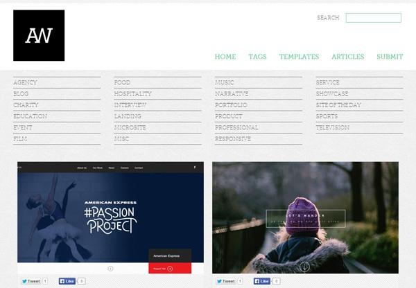 Web Design Gallery: Admire The Web