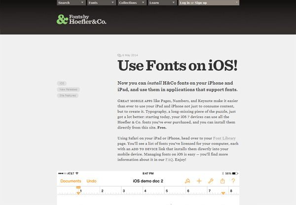 Typography.com Blog