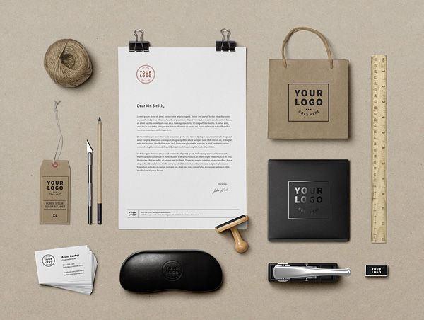 40 Beautiful Branding Mockup Templates For Download Free